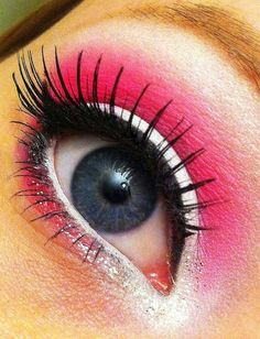 Gorgeous with White Liner.