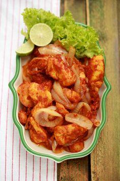 masam manis: 1 Ramadhan (Ayam Sambal)
