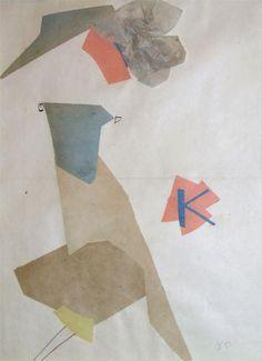 Olga Rózanova (1816~1918), a Russian avant-garde artist in the styles of Suprematist, Neo-Primitivist, and Cubo-Futurist.