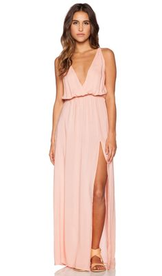 Blue Life High Tide Maxi Dress in Pink   REVOLVE