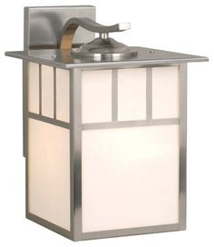 Buy the Vaxcel Lighting Stainless Steel Direct. Shop for the Vaxcel Lighting Stainless Steel Mission 1 Light Outdoor Wall Sconce - 9 Inches Wide and save. Outdoor Barn Lighting, Outdoor Wall Lantern, Outdoor Wall Sconce, Outdoor Walls, Home Lighting, Lighting Direct, Cottage Lighting, Exterior Lighting, Sconce Lighting