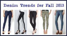 Denim Trends for Fall 2013