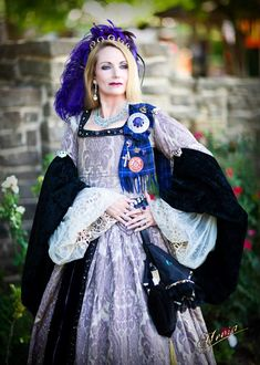 Queen Margaret of Scotland and the Isles, Scarborough Renaissance Festival, Waxahachie, Texas. Photo by Dennis Hevia Photography.