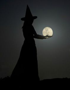 Black and White creepy moon Halloween Witch spooky witchcraft Goddess witches wiccan wicca once-upon-a-midnight-scary Halloween Art, Holidays Halloween, Vintage Halloween, Happy Halloween, Halloween Decorations, Halloween Witches, Halloween Pictures, Witch Pictures, Moon Pictures