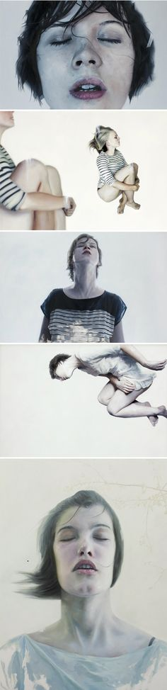 Paintings by Henrik Aarrestad Uldalen
