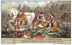 Death of Camilla, #Amazons in Virgil's Aeneid