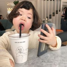 Photos Of Cute Babies, Cute Baby Girl Pictures, Cute Asian Babies, Korean Babies, Asian Kids, Black Baby Girls, My Baby Girl, Cute Little Baby, Little Babies