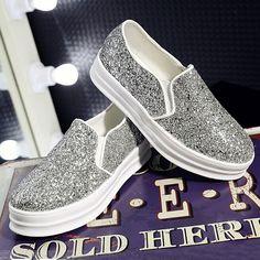 $31.20 (Buy here: https://alitems.com/g/1e8d114494ebda23ff8b16525dc3e8/?i=5&ulp=https%3A%2F%2Fwww.aliexpress.com%2Fitem%2F2015-Summer-Spring-Flat-Women-Shoes-Platform-Female-A-Pedal-Lazy-Shoes-Purple-Black-Sliver-Singles%2F32467201459.html ) 2016 Summer Spring Flat Women Shoes Platform Female A Pedal Lazy Shoes Purple Black Sliver Singles Women's Shoes Size 40 ZK3.5 for just $31.20