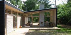 Christensen & Co Arkitekter a/s Micro House, Tiny House, High Windows, Best Build, Prefab Homes, Interior Architecture, Interior Design, House Design, Building