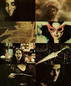 """ Marauders' Era Dreamcast. Eva Green as Bellatrix Black (Lestrange). """