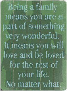 so true....I have truly been blessed to be married to such a loving husband for 26 years and raise three awesome children together!!!