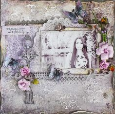 Blue Fern Studios * Timeless Beauty* - Scrapbook.com
