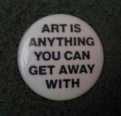 unworn retro pinback button art is anything you can get away with is part of Buttons pinback - Unworn Retro Pinback Button Art is anything you can get away with Classicart Aesthetic