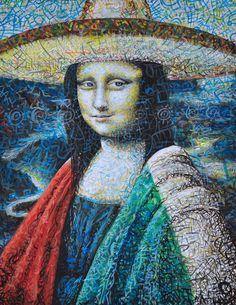 Viva Mona Lisa! [José Flores] (Gioconda / Mona Lisa)