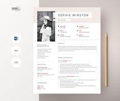 Modern Resume Template, Resume Template Free, Creative Resume Templates, Free Cover Letter, Cover Letter Template, Create A Cv, It Cv, Microsoft Word 2007, Cv Design