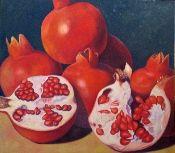 """Carmelo Sortino  'Exotica'  oil on canvas  48"""" x 54""""  at Granville Fine Art"""