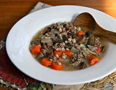 Quick and easy Scotch broth, from Soup Chick.