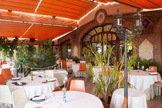Terraza cubierta restaurante Sumoll