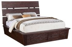 Promenade  Queen Platform Storage Bed by Riverside Furniture