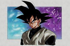 Black Goku, Dbz, Anime, Batman, Spawn, Superhero, Fictional Characters, Random, Dragonball Z