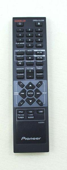 Pioneer Remote Control Model: AXD7611 #Pioneer Remote, Detail, Store, Model, Ebay, Storage, Scale Model, Models