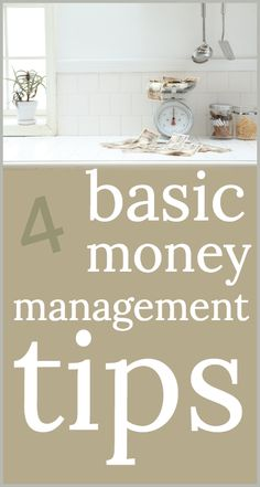 Basic money manageme