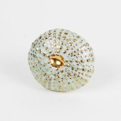 This porcelain Sea Urchin Ring sure is a looker! www.mooreaseal.com