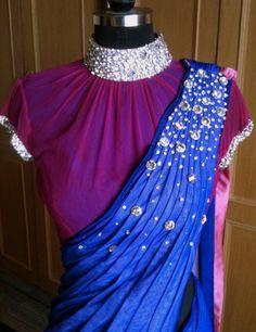 sari I really like the blouse style