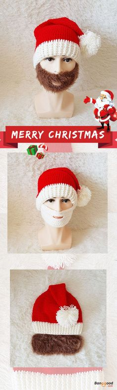 US$11.99+Free shipping. Santa Claus Beanie Hats, Men Hats, Warm&Fuuny, Skull Face Mask For Christmas Gift. Be her Santa Claus on Christmas Day, shop now!