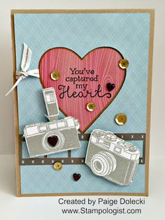 Paige Dolecki - Stampologist: April Stamp of the Month Blog Hop - Life in Pictures!