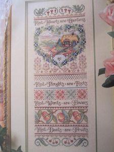 Metallic Thread Kind Hearts Are . Cross Stitch Samplers, Cross Stitch Patterns, Needlepoint Patterns, Sewing Patterns, Metallic Thread, Sally, Hearts, Unisex, Design