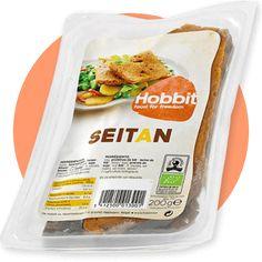 """SEITAN SHOYU (duże plastry)    200g cena 12,90 na www.pureveg.pl  Szczególna odmiana tradycyjnego seitanu. Seitan wytwarzany jest z pszenicy, a do długotrwałego gotowania służy specjalny bulion przygotowany z shoyu, koji, imbiru i przypraw. Dzięki niemu seitan wzbogacają substancje odżywcze i minerały oraz specyficzny """"mięsny"""" smak.   #seitan #seitanshoyu #bulionweganski #miesoweganskie #dlawegan #weganskadieta #sklepweganski #pureveg"""