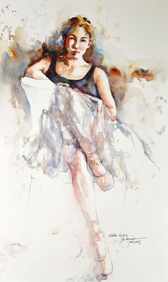 ☆ Ballet :¦: Artist Bev Jozwiak ☆