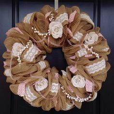 Wedding Reception Wreath