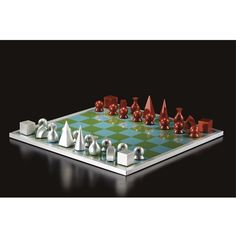 Man Ray - CHESS SET, 1920, a complete set of 32...