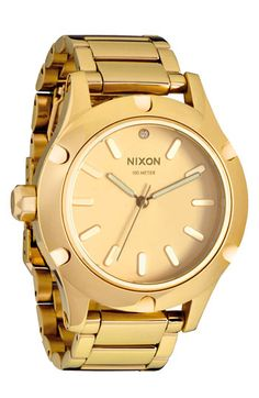 Nixon 'The Camden' Bracelet Watch available at #Nordstrom