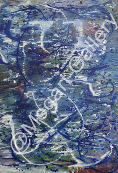 ΚΑΛΛΙΤΕΧΝΗΣ:ΠΑΤΟΥΝΑ ΑΝΑΣΤΑΣΙΑ ΔΙΑΣΤΑΣΕΙΣ:70X1000CM ΑΚΡΥΛΙΚΑ TIMH:1100,00 € Blue Artwork, Shades Of Blue, City Photo