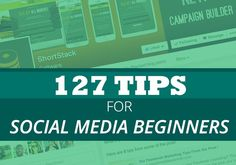 Social Media Day 2014 - 127 Tips for Social Media Beginners