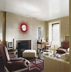 Babe Paley apartment from  Parish Hadley Tree Of Life