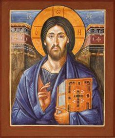 Christ of Sinai - Aidan Hart Sacred Icons