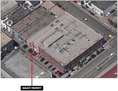 Here's the location in SoMa. Along Langton Alley, Pinterest has roughly a dozen coveted parking spots.