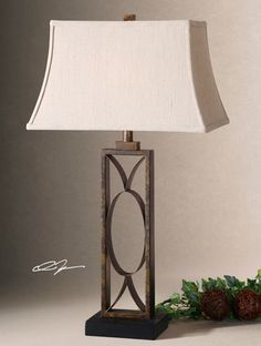 Tuscan Lamps, Tuscan Lighting, Tuscan Table Lamps. Uttermost 26264  MANICOPA. Tuscan Lamp