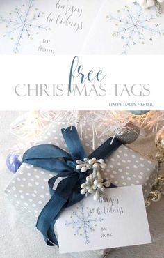Christmas Tags: Free