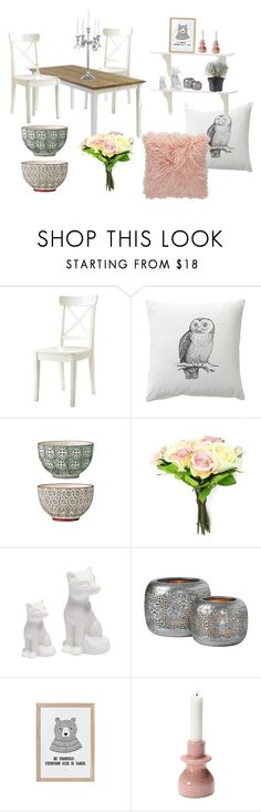 """dining"" by neteee on Polyvore featuring interior, interiors, interior design, home, home decor, interior decorating and CO"