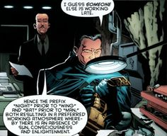I will never get tired of Alfred's sass.