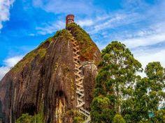A rocha de Guatapé - AC Variedades