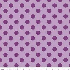IDEA #3: modern explorer quilt {purple fabric - Riley Blake Designs - Dots - Medium Dots Tone on Tone in Lavender}