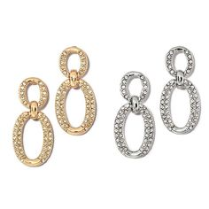 Cascading ovals! The Proud Texan Earrings incorporate the ideal of cascading ovals with open oval double link rhinestone embellished details. Regularly $14.99, shop Avon Jewelry online at http://eseagren.avonrepresentative.com
