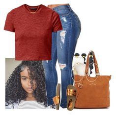 """""""Untitled #338"""" by muvaaliyah ❤ liked on Polyvore featuring Ashlyn'd, Elle & Jae Gypset, Leo Studio Design and River Island"""