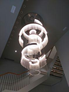 Custom ice for Tapiceria in Spain Pendant Light Fixtures, Custom Lighting, Lighting Solutions, Chandelier, House Design, Ceiling Lights, Bespoke, Diva, Pendant Lights